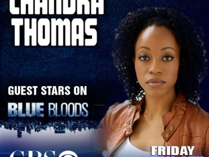 chandra guest stars on Blue Bloods this Friday!